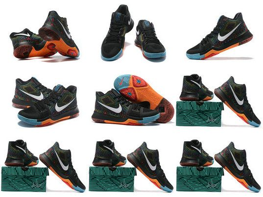 Kyrie Irving Shoes 2017 Kyrie 3 III Black History Month Colorful