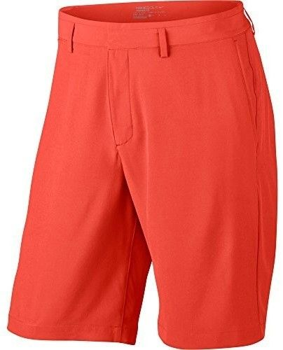 Nike 2017 Flat Front Stretch Woven Men's Golf Shorts (Max Orange, 34)