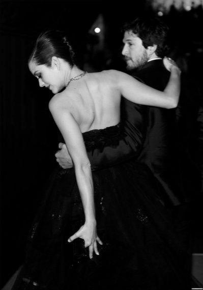 Couple Marion Cotillard et Guillaume Canet - Cannes - noir et blanc - black and white - iconic
