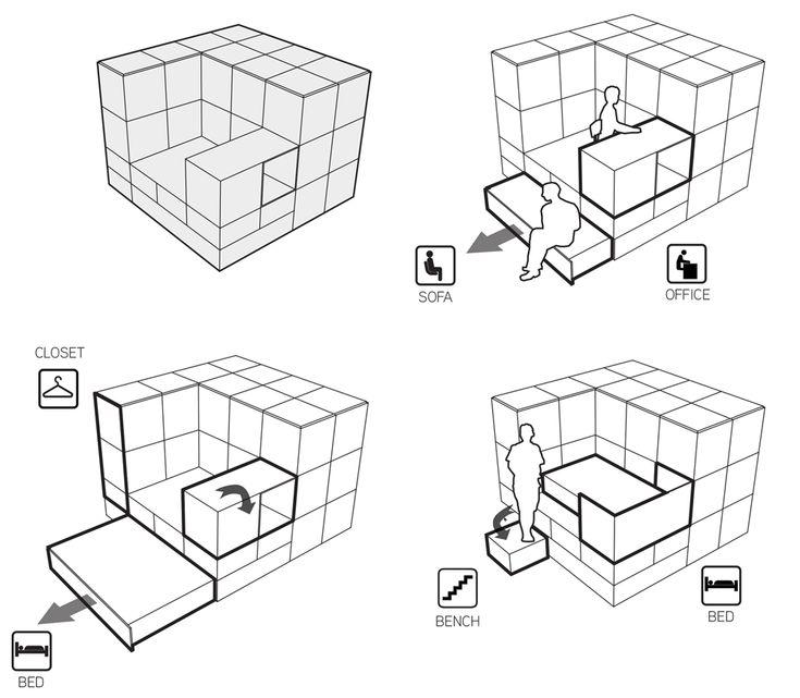 533 besten Arch Concept Bilder auf Pinterest Architekten - die vorgefertigten wohnmodule odda erlauben odda