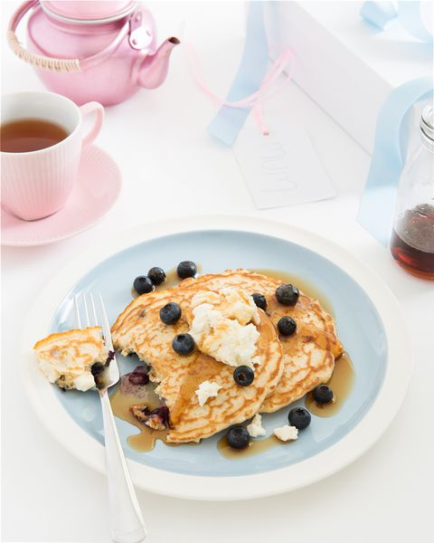 Ricotta & Blueberry Pancakes