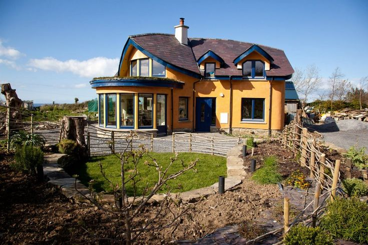 Sligo Mud And Wood House Straw Bale Link At The Bottom