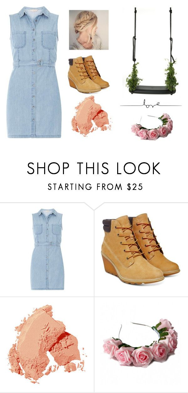 """""""beautifulllllllll!"""" by cj34turtles ❤ liked on Polyvore featuring Dorothy Perkins, Droog, Timberland, Bobbi Brown Cosmetics and Zara Taylor"""