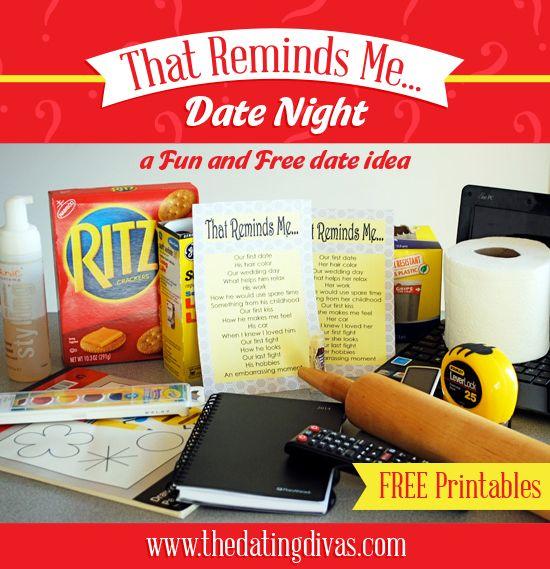 A Fun and FREE Date night idea