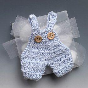 Luty Artes Crochet: He encontrado estos favores de la ducha del bebé muy hermosa ...... me encantó!
