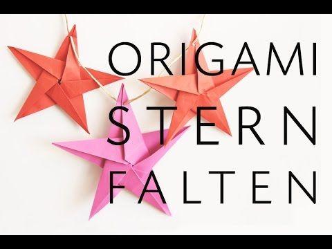 weihnachtsprojekt origami stern aus papier f r. Black Bedroom Furniture Sets. Home Design Ideas