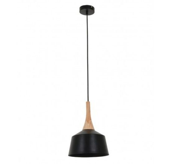 HUSK 200MM PENDANT BLACK - Modern Pendants - Pendant Lights - LIGHTING DIRECT LIMITED