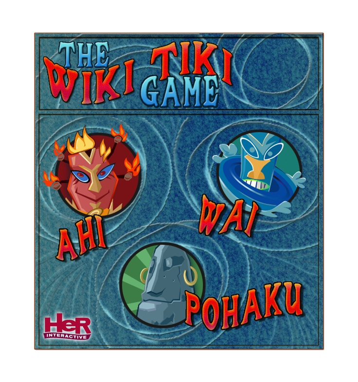 Nancy Drew The Creature of Kapu Cave. Wiki Tiki game poster. Can you sing the jingle?