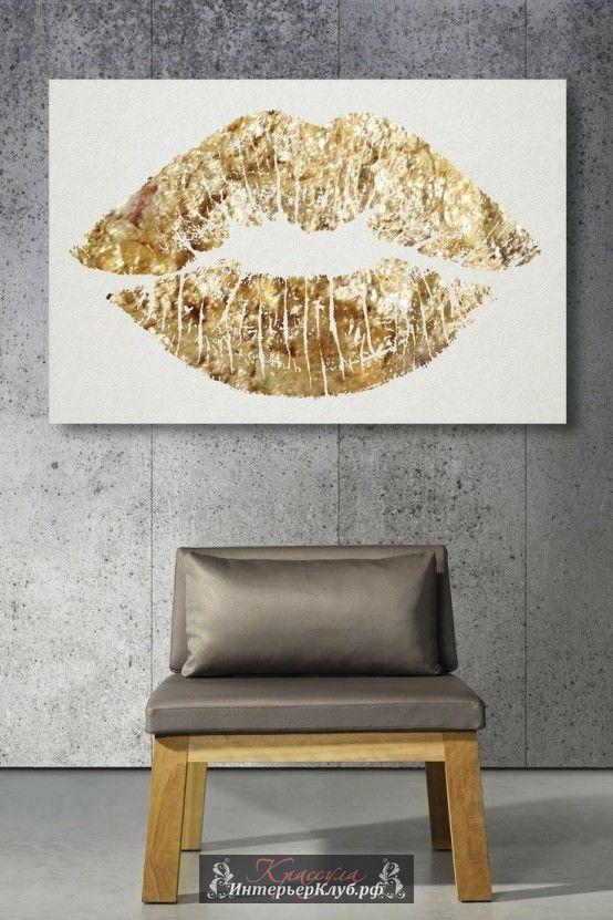 Золотые акценты в интерьере, золотой декор в интерьере, интерьеры с золотом, интерьеры с золотыми аксессуарами, золото в интерьере (7)
