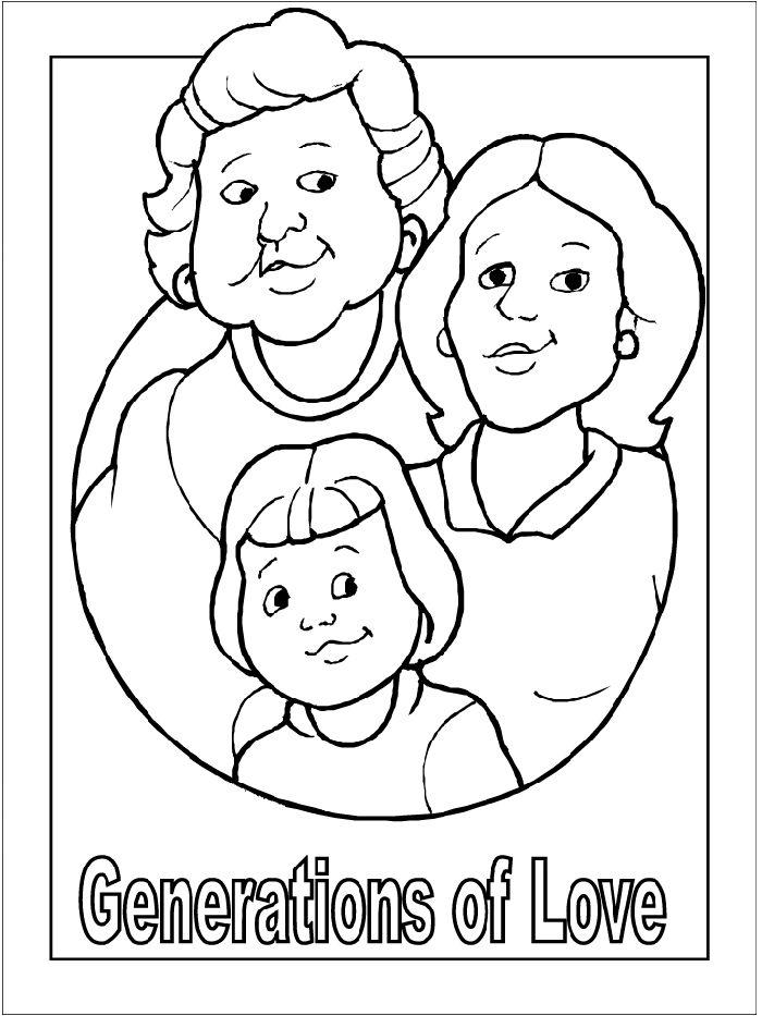 Рисунок бабушке на день матери