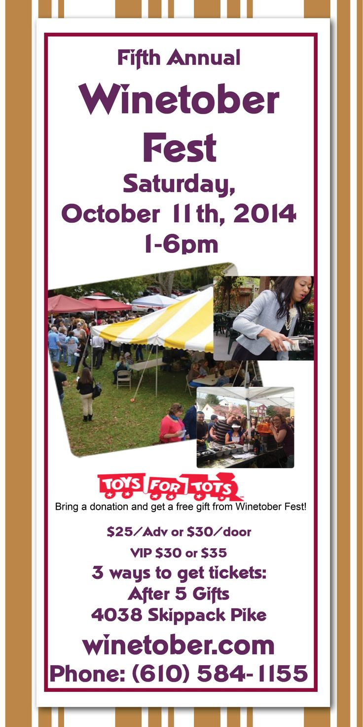 5th Annual Winetober Fest