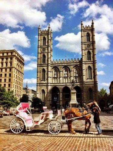 The magnificent Notre-Dame Basilica of Montréal
