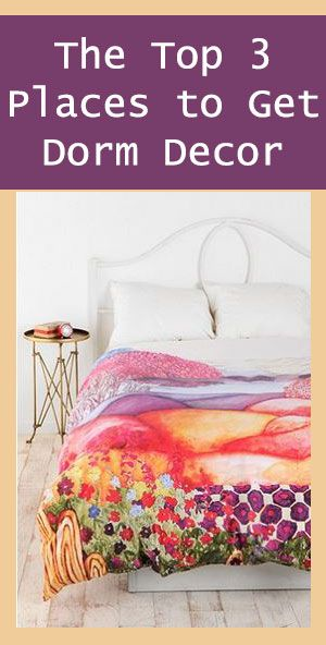 The Top  Places To Get Dorm Decor