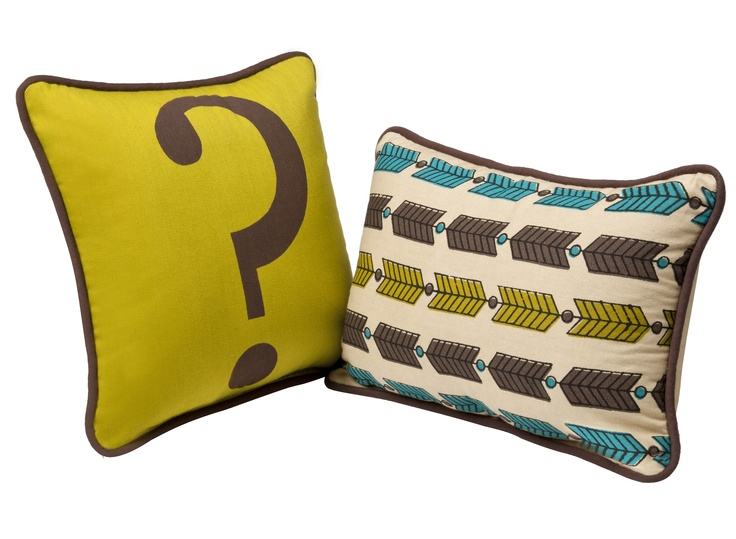 Decorative pillows from The Curiosity Shoppe at #Target. Launching Sept. 9 with #TheShopsAtTgt. LOVE the arrows