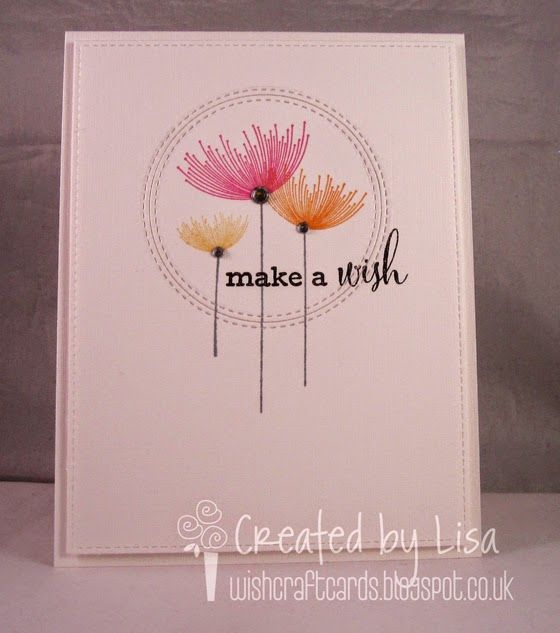Clearly Besotted Dandelion Dreams, MFT Blueprints 13