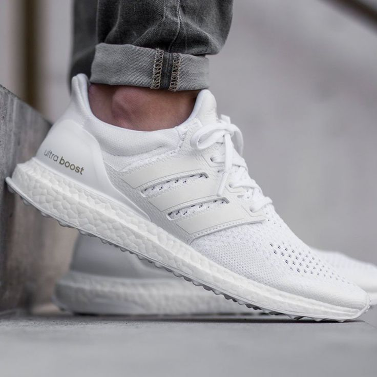 Adidas Boost Triple White #Sneakers, #Stylish, #White