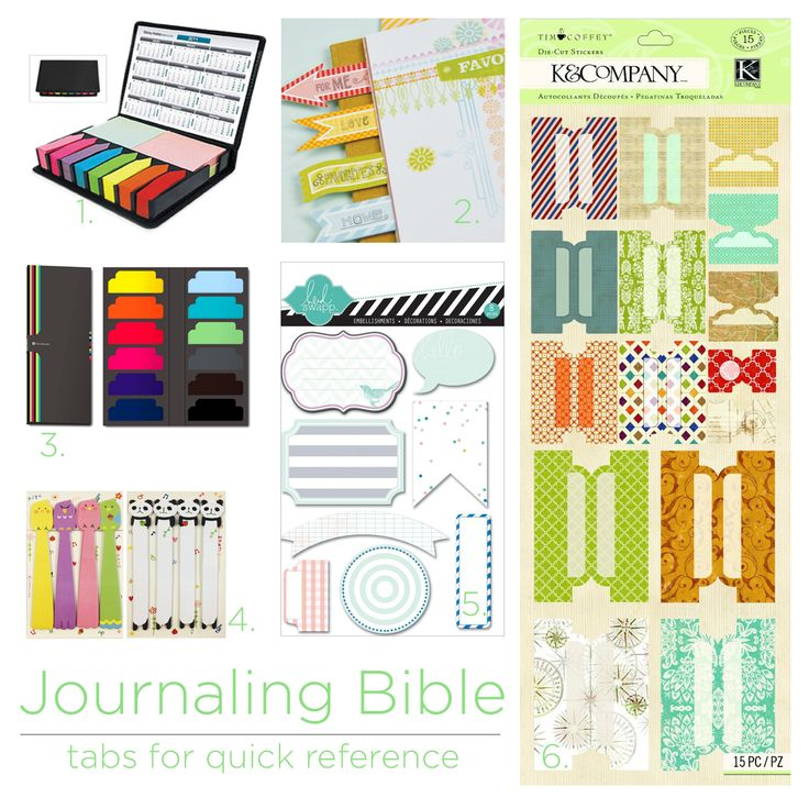 graphic regarding Printable Bible Tabs called Journaling Bible Tabs Everyday Enthusiasm Offers