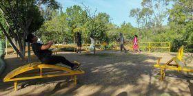 Tranquilidad, comodidad y aire limpio en el Parque Luis Donaldo Colosio