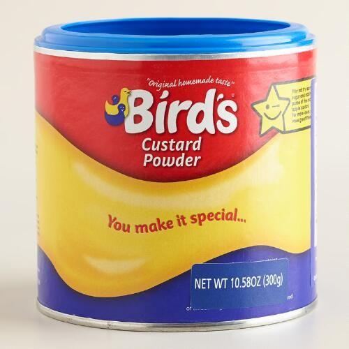 One of my favorite discoveries at WorldMarket.com: Bird's Custard Powder, Set of 2