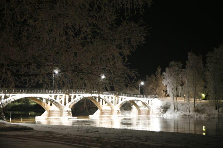 Old bridge in Kokemäki town.
