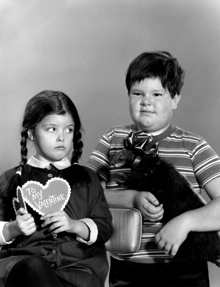 Actor Ken Weatherwax, best known for playing Pugsley from 'The Addams Family' TV series has died. Above, Weatherwax with Lisa Loring, who played his sister Wednesday Adams.