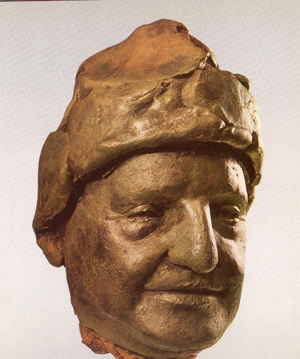 Giacomo MANZU/papa Giovanni ((Juan XXIII) (617×737)