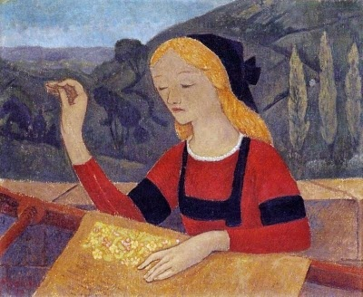 It's About Time: Working with Textiles - by French Painter Paul Serusier 1863-1927