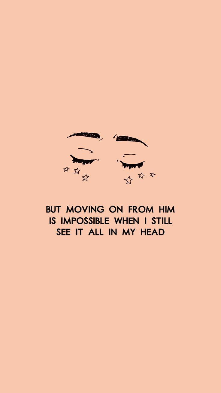 Pero salir de él es imposible cuando todavía lo veo todo en mi cabeza.