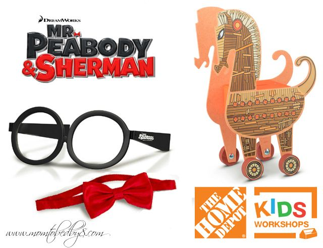 Mr. Peabody & Sherman Review & Giveaway - Enter to win $25 Visa Gift Card to see the film in theaters plus more!  3/10