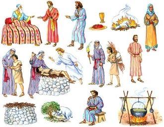 old testament felt flannel board bible stories