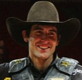 Silvano Alves held on to his sizable lead to win the Professional Bull Riders world title and $1 million bonus, and Robson Palermo jumped from fourth to first place Sunday.