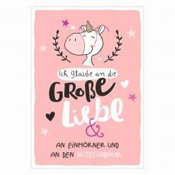Postkarte »Nutellabaum«