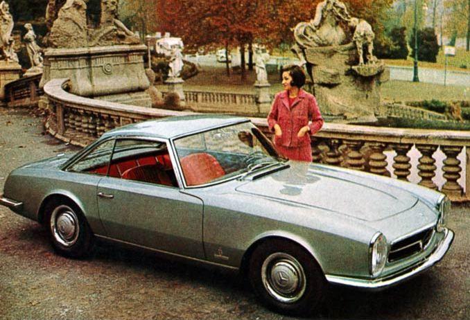 Another collaboration between Mercedes an Pininfarina, a beauty - 230 SL.