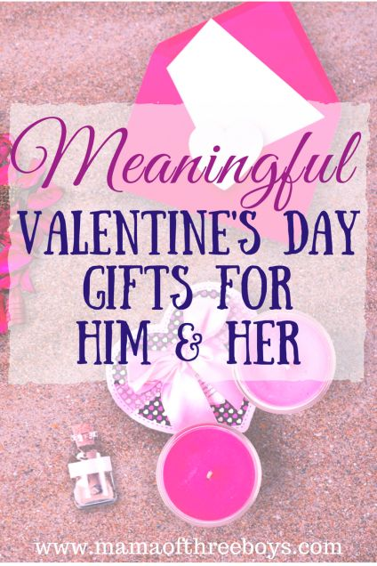 Meaningful Valentine's Day Gifts for Him & Her
