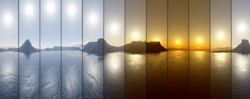 timePhotos, Midnightsun, Sun Sequences, Time Lap, Nature Photography, Desktop Wallpapers, Amazing Nature, Midnight Sun, 12 Hour