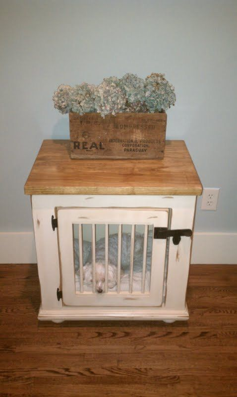 Canine Cabinets Dog Kennel for your home by RelicFarmTables, $950.00    Yes my dog is getting a home like this one as soon as I get my place.