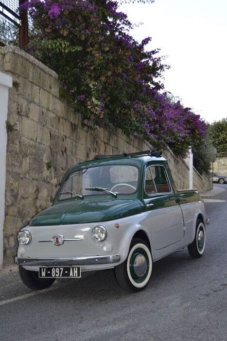 FIAT 500 pick up | Never saw one - I like it Photo Sté PArfait état
