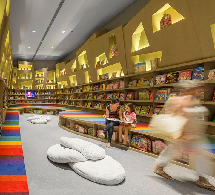 Aiva Bookstore By Studio Arthur Casas Rio De Janeiro Brazil Retail Design Blog DesignLibrary DesignKids LibraryCommercial