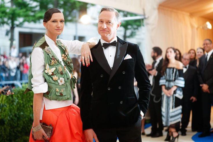 Jenna Lyons & Vincent Mazeau @Met Gala 2017
