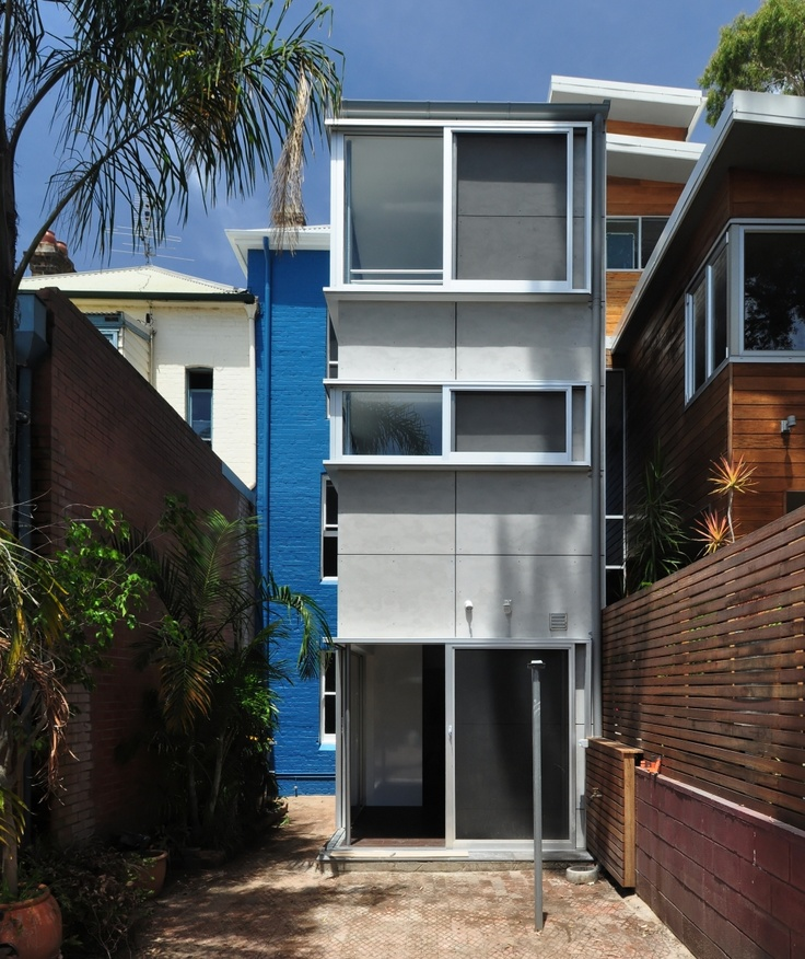 Bourne and Blue Architecture Simple HouseBakery