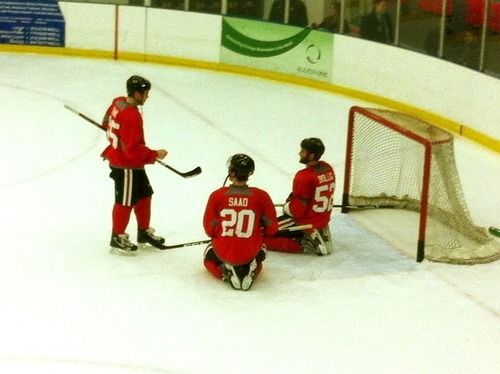 Storytime with Andrew Shaw. This might be the cutest thing i've seen yet.