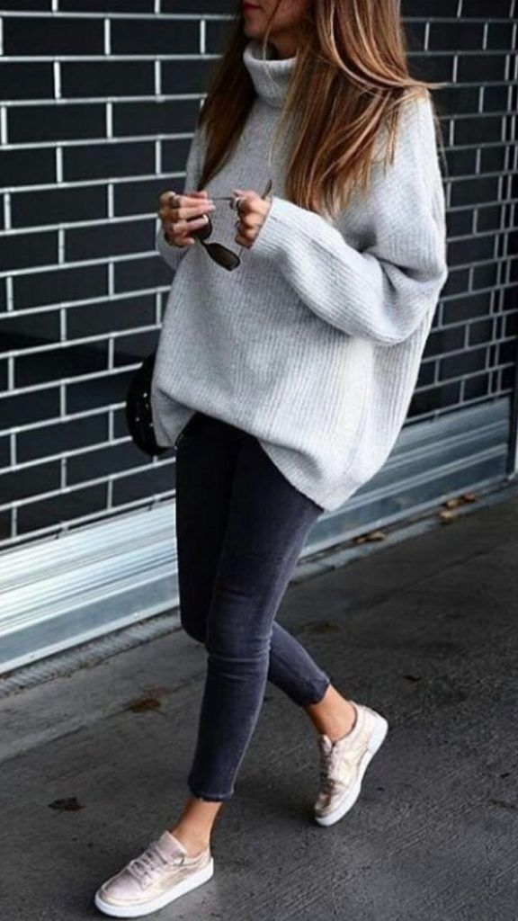 45 impressive winter outfits for your own ASAP / 45 #Winter #Outfits