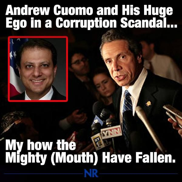 New York's Governor Andrew Cuomo is having a very bad morning.