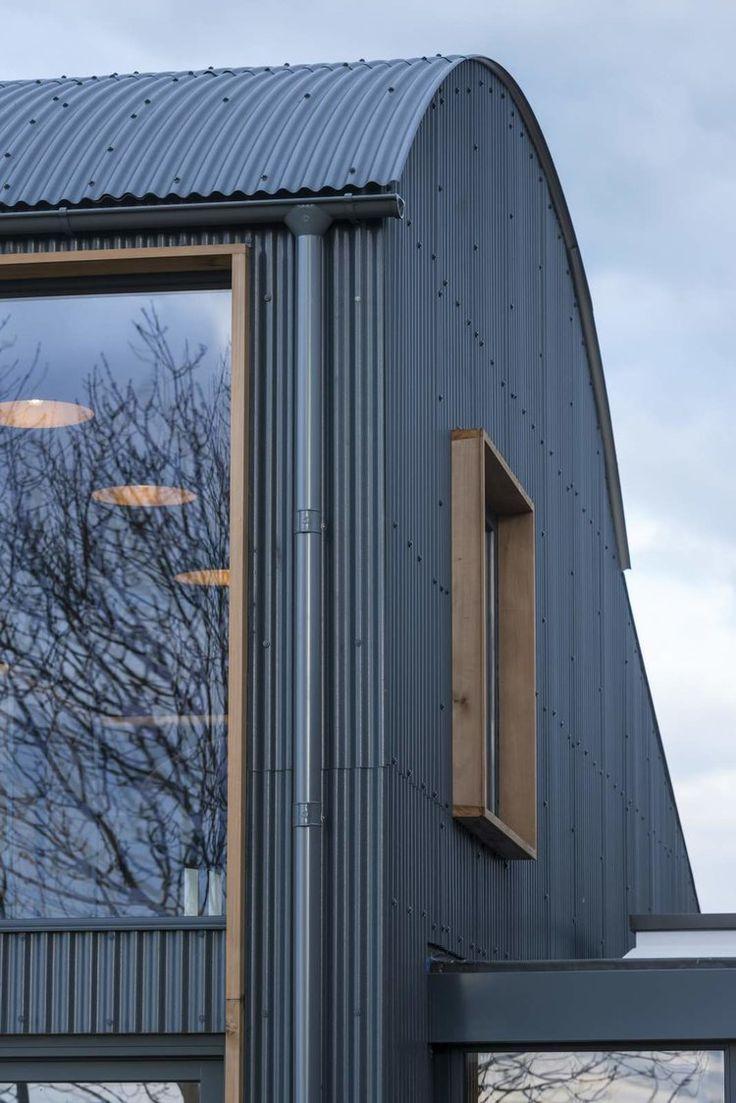 Modern Home Barn Conversion Exterior Contemporary Barn House Cladding