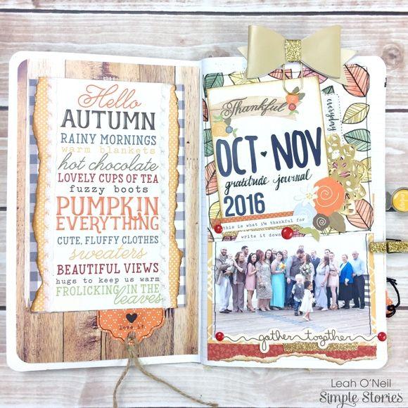 Gratitude Journal by Leah O'Neil
