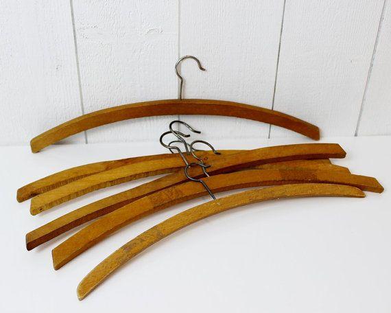Frans van houten hangers - houten kleerhangers, kleerhangers, houten kleerhangers, Franse hangers, garderobe, kleerhangers, bruiloft hanger, D646