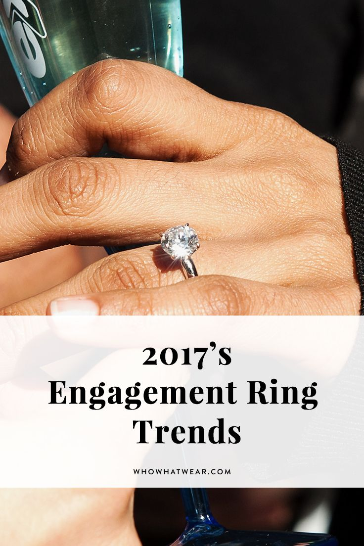 Calling All Bridestobe, These Are The Biggest Engagement Ring Trends Of