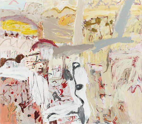 Elisabeth Cummings Fowler's gap 2012 oil on canvas 115x130cm $44,000 SOLD