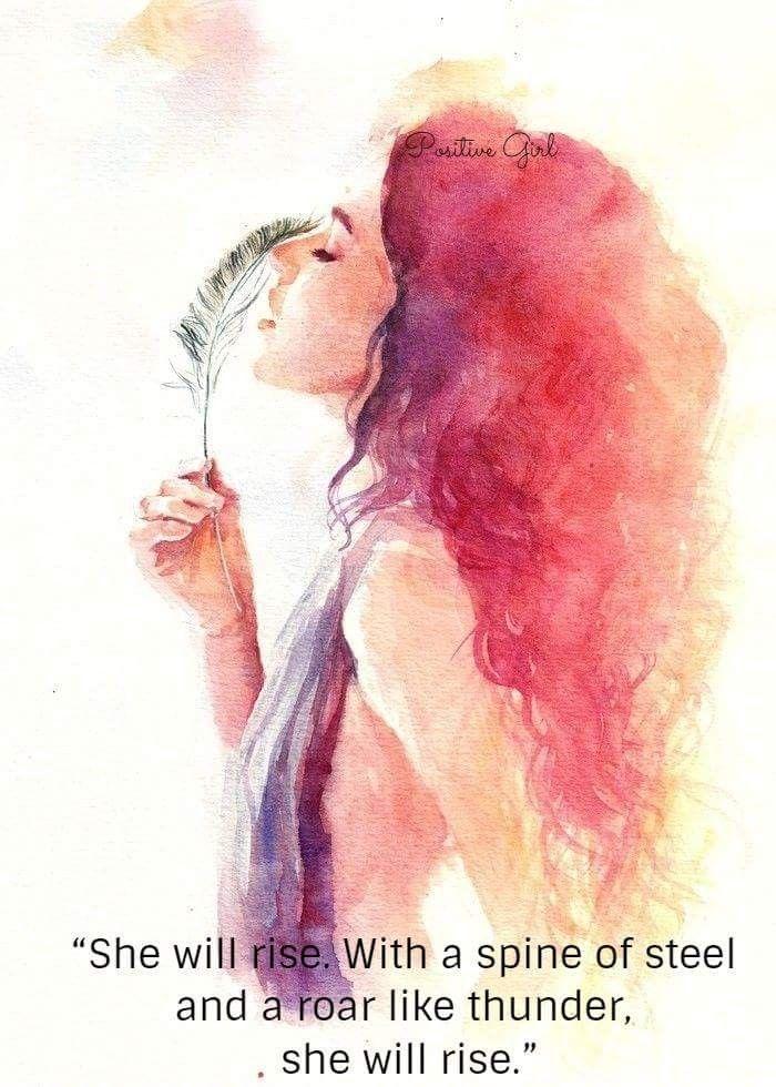 Idea By Sandee Mroczek On Positive Girl Watercolor Portrait
