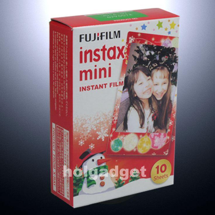 Fujifilm Fuji Instax Mini Christmas 10 Film 7s 8 25 50s 90 300 Camera Share SP 1 | eBay